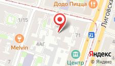 Мини-отель Ра Кузнечный 19 на карте