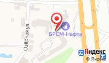 Отель Верховина на карте