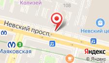 Гостиница Невский Ряд - Невский 106 на карте