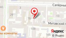 Гостиница На Саперном на карте