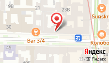 Мини-отель ROTAS on Chaykovskogo 36 на карте