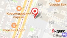 Отель Ибис на карте