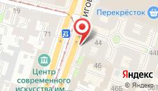 Отель Автограф на карте