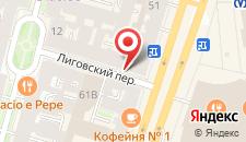 Отель Берег на карте