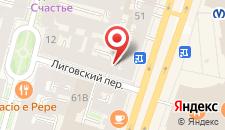 Гостиница Old Flat Hotel на Лиговском на карте