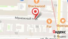 Отель ArtApart на карте