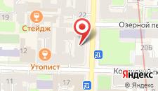Отель Аллюрия на карте