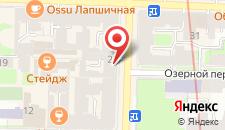 Гостиница Пять вечеров на карте