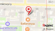 Отель Akyan на карте