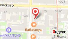 Отель Akyan St.Peterburg на карте