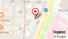 Гостиница Аврора Центральная на карте