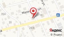 Отель Восход на карте