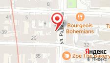 Отель Радищев на карте