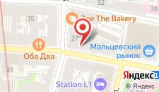 Гостиница Дом Кумовича на карте