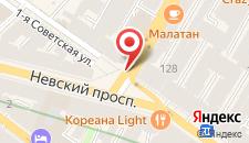 Мини-отель Геральда на Невском 126 на карте