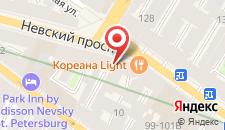 Хостел SuperHostel на Невском 95 на карте