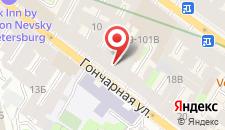 Гостиница Мостотель на карте