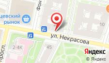 Гостиница Рада на карте