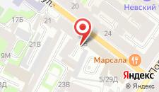 Мини-отель Петровская Арка на Гончарной на карте