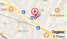 Отель Меланж на карте