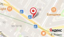 Мини-отель Номера на Невском на карте