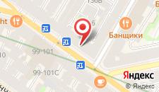 Арт-отель Азарт на карте