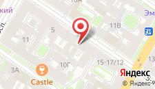Отель Комплимент на карте