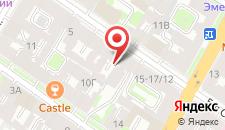 Гостиница Adele на карте