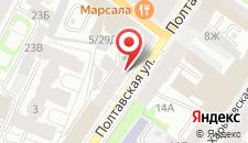 Отель Невский Ампир на карте