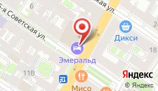 Гранд Отель Эмеральд на карте