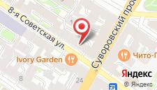 Апарт-отель Облака на карте
