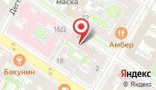 Мини-отель Лермонтов на карте