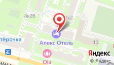 Мини-отель Алекс Отель на Мужества на карте
