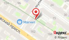 Гостиница Староневский дом на карте