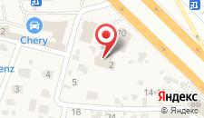 Отель Сиеста на карте
