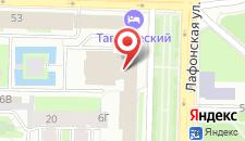 Отель Смольнинская на карте