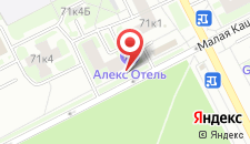 Мини-отель Алекс Отель на Будапештской на карте