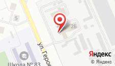 Отель Сатурн на карте