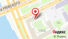 Отель Академия на карте