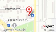 Отель Звезда на карте
