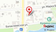 Отель ВиллаНинна на карте