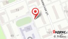 Хостел На Метростроевской на карте