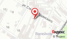 Апартаменты На Руданского на карте