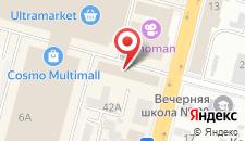 Отель Космополит на карте