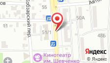 Отель Екатерина Великая на карте