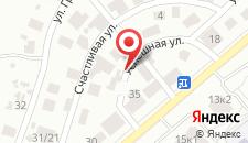 Отель Лавилия на карте