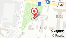 Апартаменты Апартаменты на Зоологической на карте