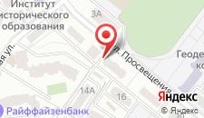 Отель O'Kiev на Просвещения на карте