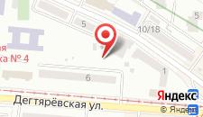 Отель Лукьяновский на карте