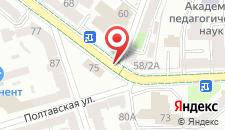 Отель Pokrovsky на карте